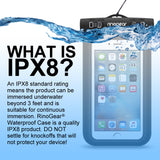 RinoGear iPhone 6S / 6S Plus / Universal Waterproof Case Phone Dry Bag Pouch