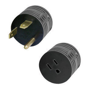 30 Amp Male to 15 Amp Male Reverse Adapter