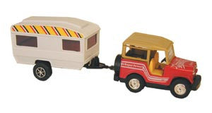 Transporter Toy Trailer and SUV