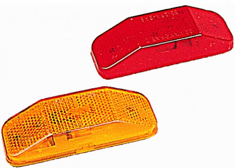 #99 Series Clearance/Side Marker Lights W/Reflex Amber Replacement Lens