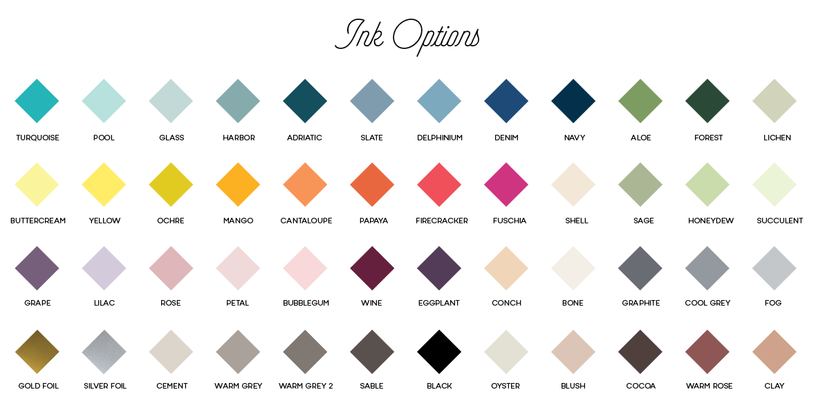 letterpress ink options png