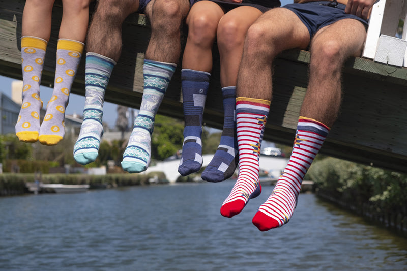 Dazzling colors, exclusive designs and the comfort of pure Pima cotton - Soul Socks for men and women