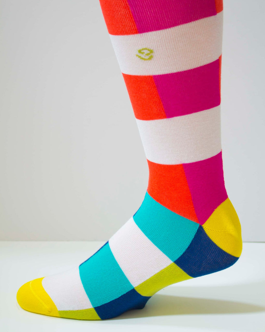 Color Blocker Men's Socks