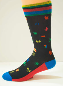 The Black Knight Men's Socks