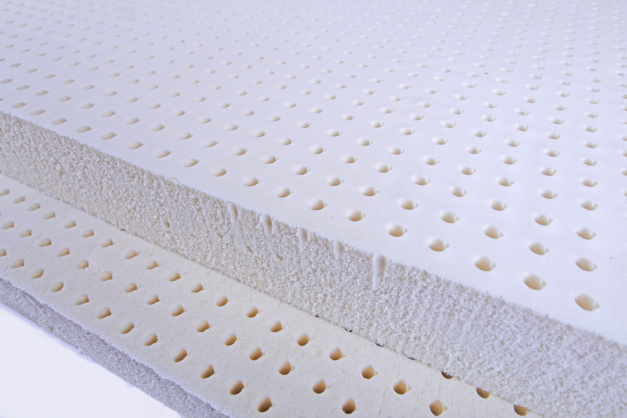 Latex Mattress Topper.Blended Talalay Latex Mattress Toppers