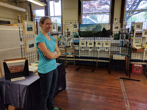 Mother Brook Arts and Community Center Open Studios, Spring 2017.