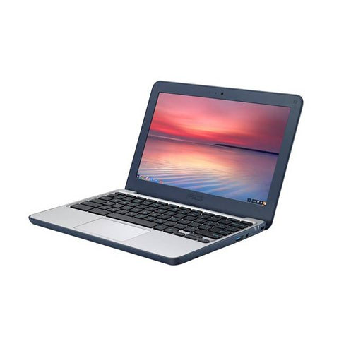 ASUS Chromebook C202SA-YS02 11.6 inch Intel Celeron N3060 1.6GHz/ 4GB LPDDR3/ 16GB eMMC + TPM/ USB3.0/ Chrome Notebook (Dark Blue)