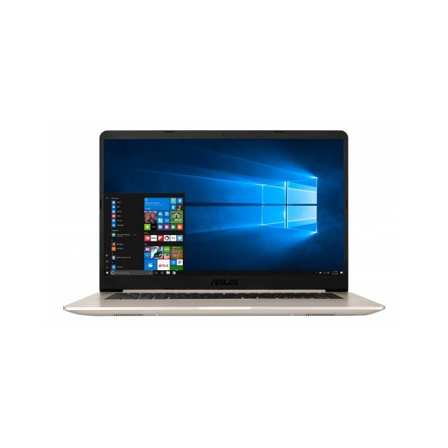 Asus VivoBook S S510UA-RB51 15.6 inch Intel Core i5-7200U 2.5GHz/ 8GB DDR4/ 1TB HDD/ USB3.1/ Windows 10 Notebook (Gold Metal)
