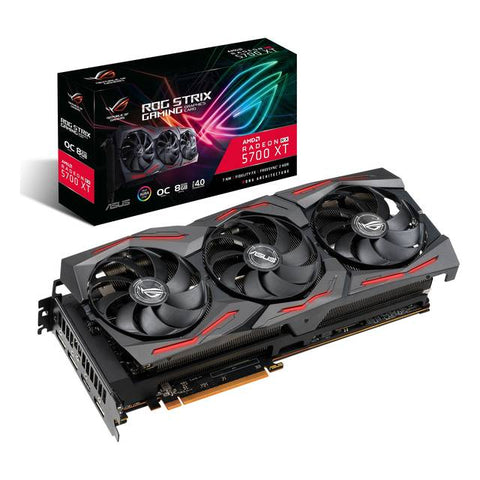 ASUS ROG STRIX AMD Radeon RX 5700 XT Overclocked 8GB GDDR6 HDMI/3DisplayPort GAMING PCI-Express 4.0 Video Card