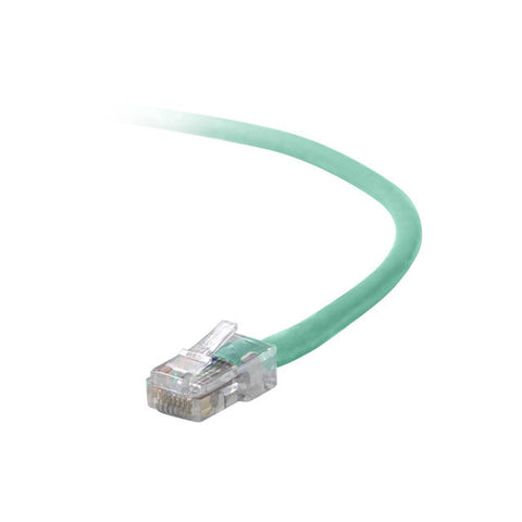 Belkin A3L791-03-GRN-S 3ft CAT5e Snagless Patch Cable w/ RJ45M/RJ45M (Green)