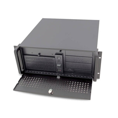 AIC RMC-4A3-0-0-200-B No Power Supply 4U Rackmount Server Chassis (Black)