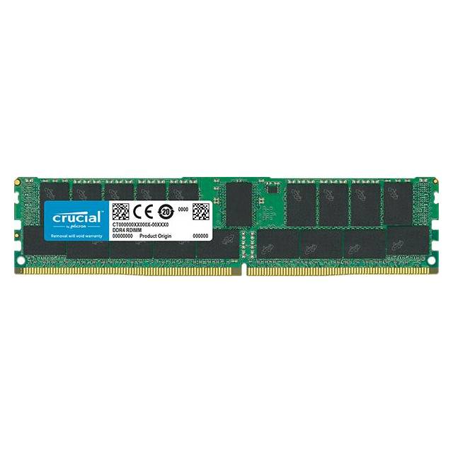 Crucial DDR4-2400 32GB/4Gx72 ECC/REG CL17 Server Memory