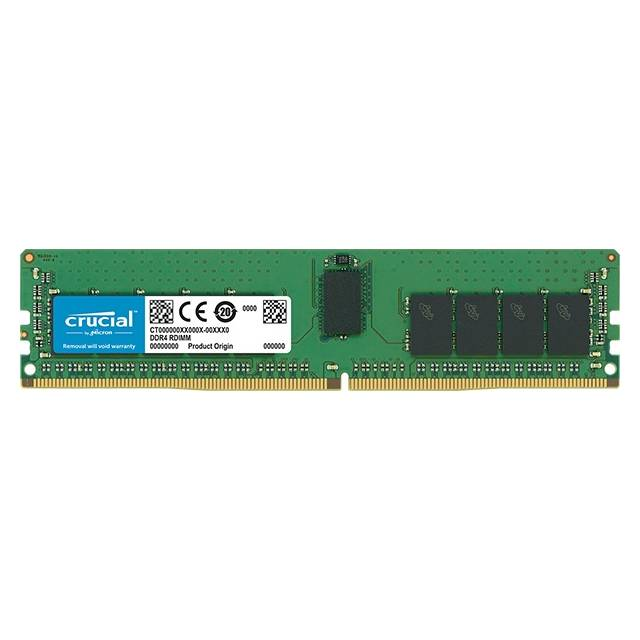 Crucial DDR4-2400 16GB/1Gx8 ECC/REG CL17 Server Memory