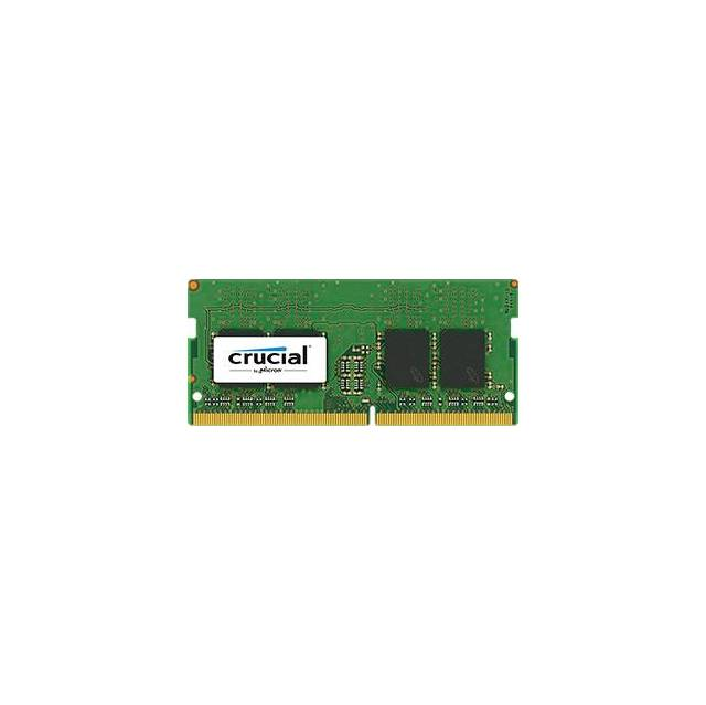 Crucial DDR4-2400 SODIMM 16GB/2Gx64 CL17 Notebook Memory