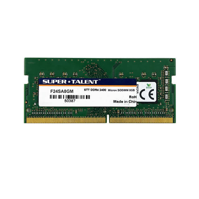 Super Talent DDR4-2400 SODIMM 8GB Micron Chip Notebook Memory