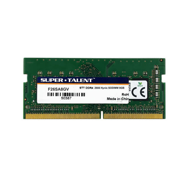 Super Talent DDR4-2666 SODIMM 8GB Notebook Memory