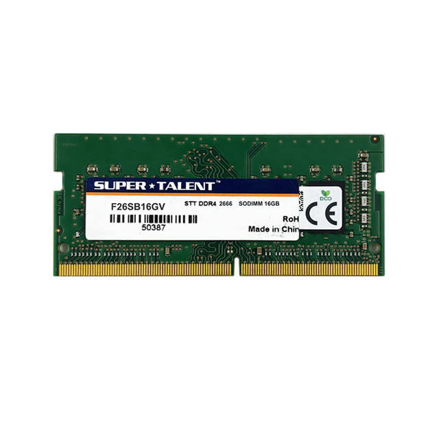 Super Talent DDR4-2666 SODIMM 16GB Value Notebook Memory