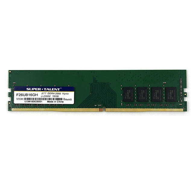Super Talent DDR4-2666 16GB Hynix Chip Memory