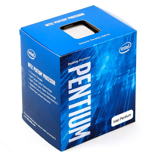 Intel Pentium G4400 Dual-Core Skylake Processor 3.3GHz 8.0GT/s 3MB LGA 1151 CPU, Retail