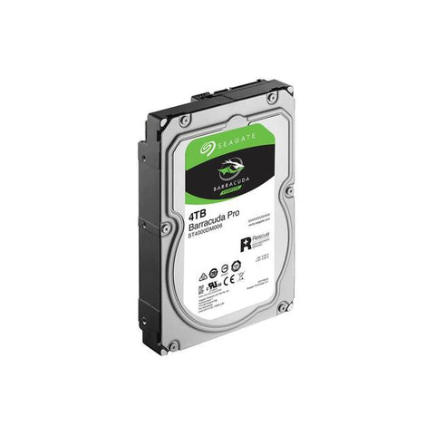 Seagate BarraCuda Pro ST4000DM006 4TB 7200RPM SATA 6.0 GB/s 128MB Hard Drive (3.5 inch)