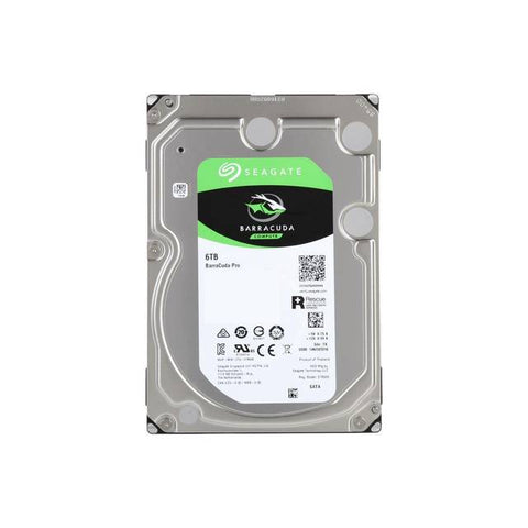 Seagate BarraCuda Pro ST6000DM004 6TB 7200RPM SATA 6.0GB/s 128MB Hard Drive