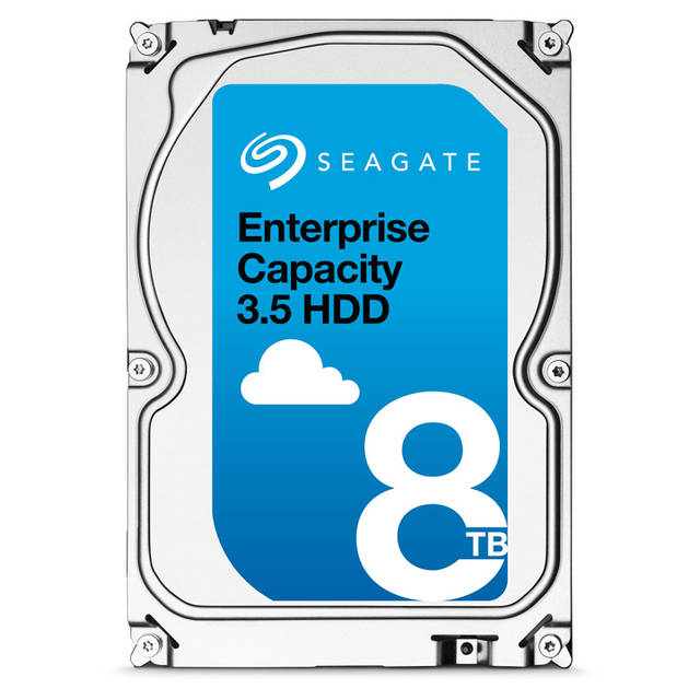 Seagate Enterprise Capacity ST8000NM0055 8TB 7200RPM SATA 6.0 GB/s 256MB Enterprise Hard Drive (3.5 inch, Exos 7E8 HDD 512E SATA)