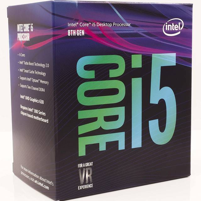 Intel Core i5-8600 Coffee Lake Processor 3.1GHz 8.0GT/s 9MB LGA 1151 CPU, Retail