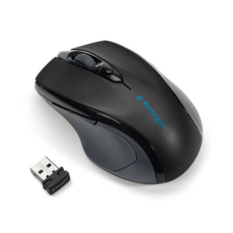 Kensington K72423AM Pro Fit Mid-Size Wireless 2.4GHz Optical Mouse w/ 1750 DPI (Graphite Grey)