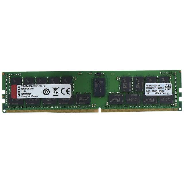 Kingston KSM26RD4/32MEI DDR4-2666 32GB/4Gx72 ECC/REG CL19 Server Memory