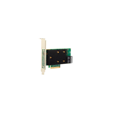 Broadcom LSI MegaRAID 9440-8I 8-port 12Gb/s SAS/SATA/NVMe Tri-Mode PCI-Express 3.1 RAID Controller, Single