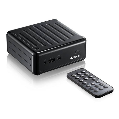 ASRock BEEBOX N3010 Intel N3010/ WiFi/ A&GbE/ PC Barebone System (Black)
