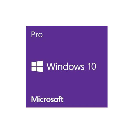 Microsoft Windows 10 Pro Operating System 64-bit English (1-Pack), OEM