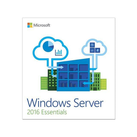 Microsoft Windows Server 2016 Essentials 1 Server, 2 CPU, OEM
