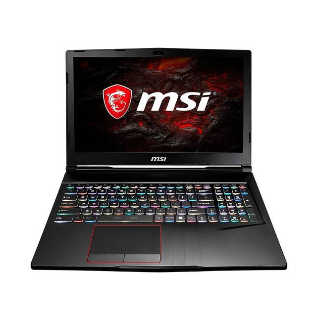 MSI GE63 Raider-008 15.6 inch Intel Core i7-7700HQ 2.8GHz/ 16GB DDR4/ 2x 512GB SSD/ GTX 1050/ USB3.1/ Windows 10 Notebook (Aluminum Black)