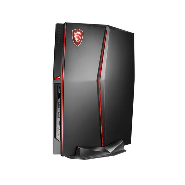 MSI Vortex G25-022US Intel Core i7-8700 3.2GHz/ 16GB DDR4/ 1TB HDD + 256GB SSD/ GTX 1070/ Windows 10 Pro Desktop PC (Black)