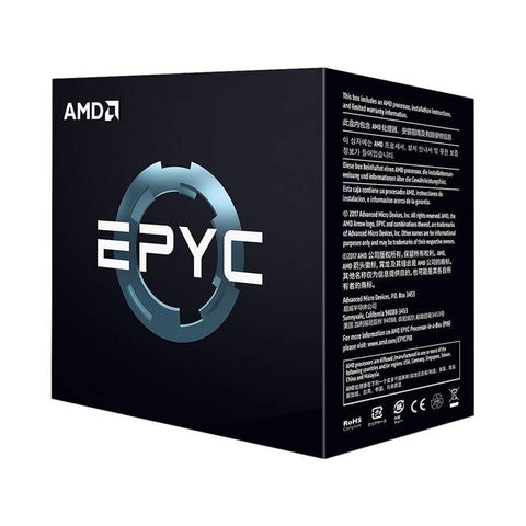 AMD EPYC 7251 Eight-Core 2.1GHz Socket 1P/2P , Retail
