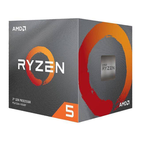 AMD 100-100000022BOX Ryzen 5 3200X Six-Core 3.8GHz Socket AM4, Retail