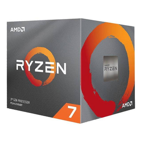 AMD 100-100000025BOX Ryzen 7 3800X Desktop Processors / 3.9Ghz/ Eight-Core/ PCIe 4.0/ Retail