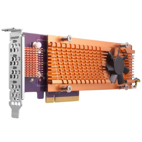 QNAP QM2-4S-240 Quad M.2 2280 SATA SSD Expansion Card