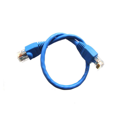 iMicro C5M-1-BUB 1ft CAT5e Cable (Blue)