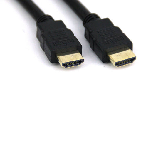iMicro ST-HDMI30M 30ft HDMI Type A Male to HDMI Type A Male Cable w/ HDMI v1.4 (Black)