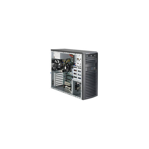 Supermicro SuperWorkstation SYS-5039A-IL LGA1151 500W Mid-Tower Workstation Barebone System (Black)