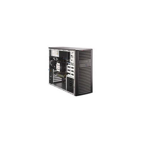 Supermicro SuperWorkstation SYS-5039A-I LGA2066 900W Mid-Tower Workstation Barebone System (Black)