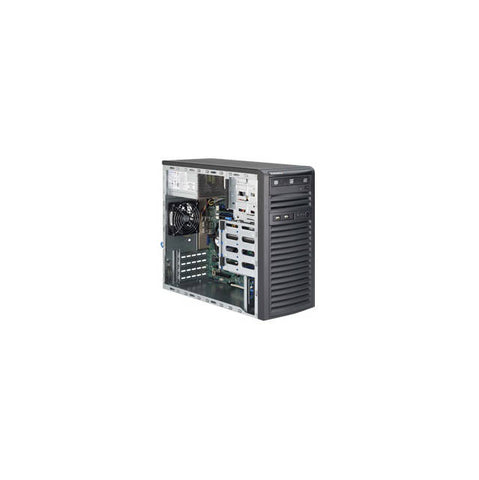 Supermicro SuperServer SYS-5039D-I LGA1151 300W Mid-Tower Workstation Barebone System (Black)