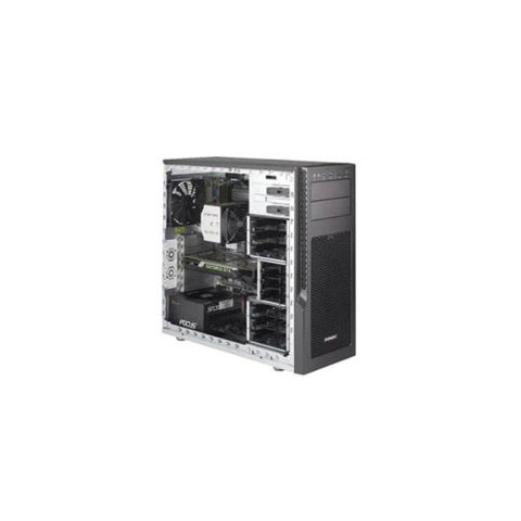 Supermicro SuperServer SYS-5039AD-I LGA2066 750W Mid-Tower Workstation Barebone System (Black)