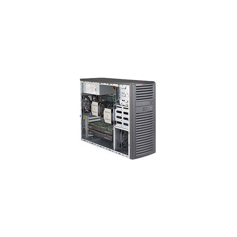 Supermicro SuperWorkstation SYS-7038A-I Dual LGA2011 900W Mid-Tower Workstation Barebone System (Black)