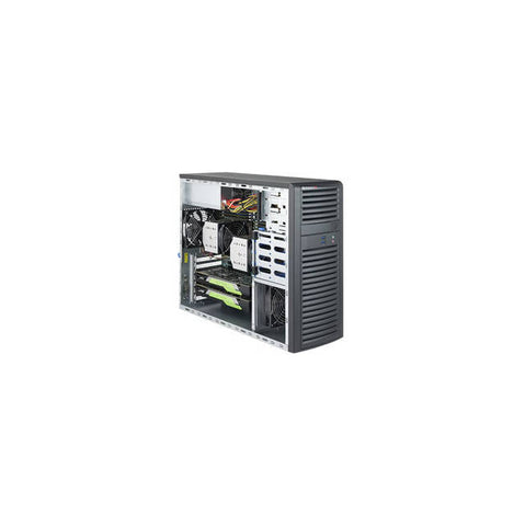 Supermicro SuperWorkstation SYS-7039A-I Dual LGA3647 1200W Mid-Tower Workstation Barebone System (Black)