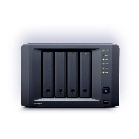 Synology DVA3219 4 bay Deep Learning NVR DVA3219 (Diskless)