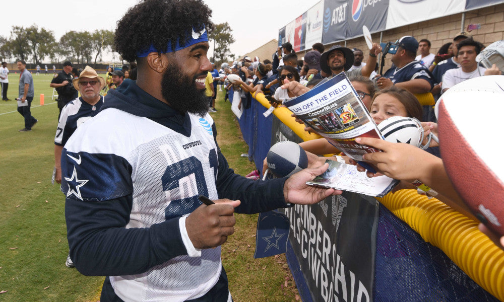 2019 Dallas Cowboys Training Camp Schedule in Oxnard