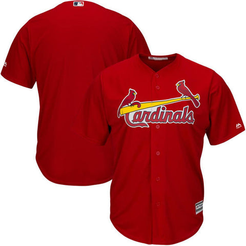 St. Louis Cardinals Majestic Athletic Cool Base Red Jersey